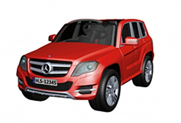 HECHT MERCEDES BENZ GLK - CLASS - RED
