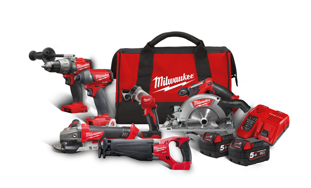 Milwaukee set náradia M18 FPP6A-502B