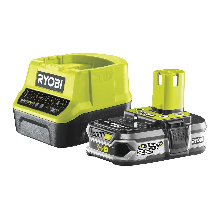 Ryobi RC 18120-125 (sada 18 V nabíjačky s akumulátorom 2,5 Ah )