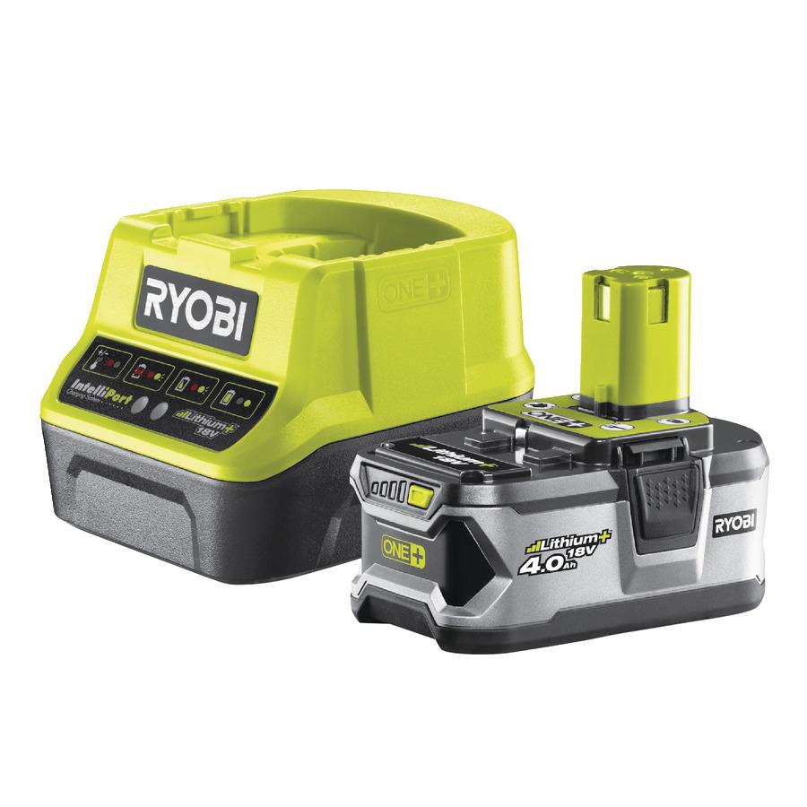 Ryobi RC 18120-140 (sada 18 V nabíjačky s akumulátorom 4,0 Ah )