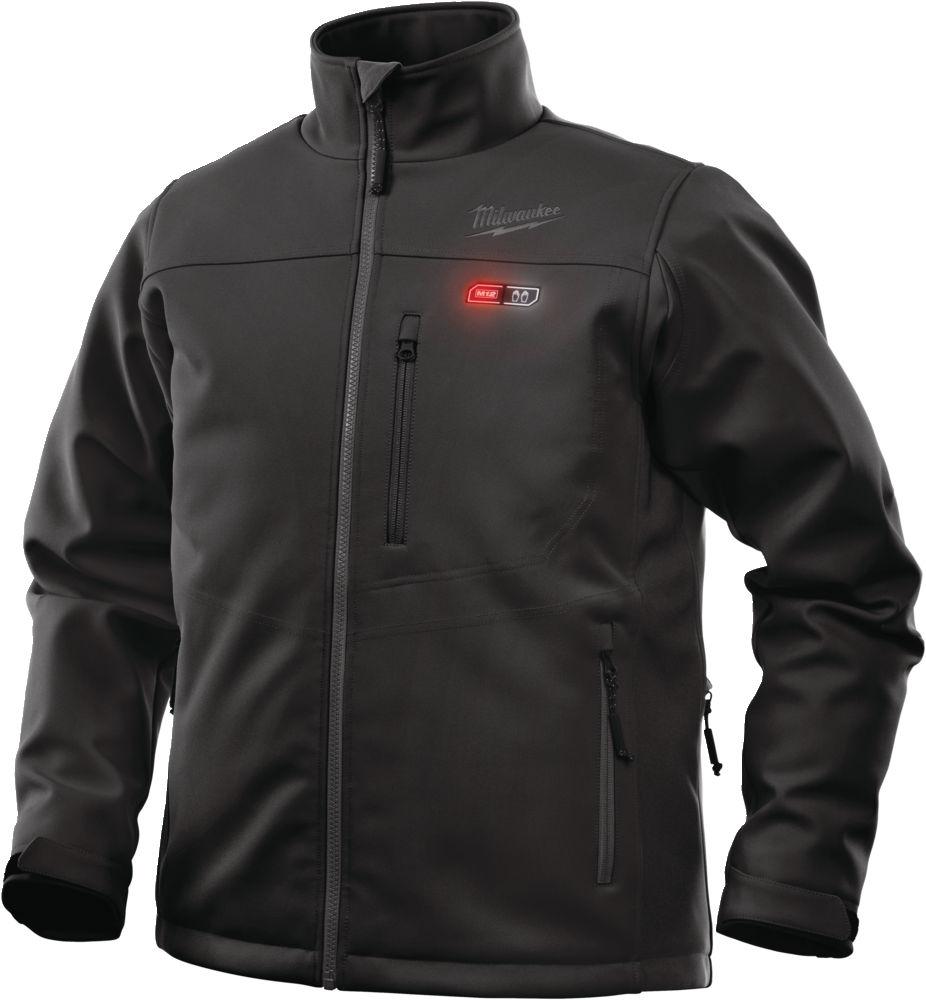 MILWAUKEE M12 HJ BL4-0 vel. XL (vyhrievaná bunda čiernej farby)